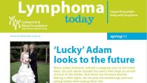 LBF's quarterly Lymphoma Today magazine