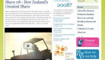 Leukaemia & Blood Foundation brand website